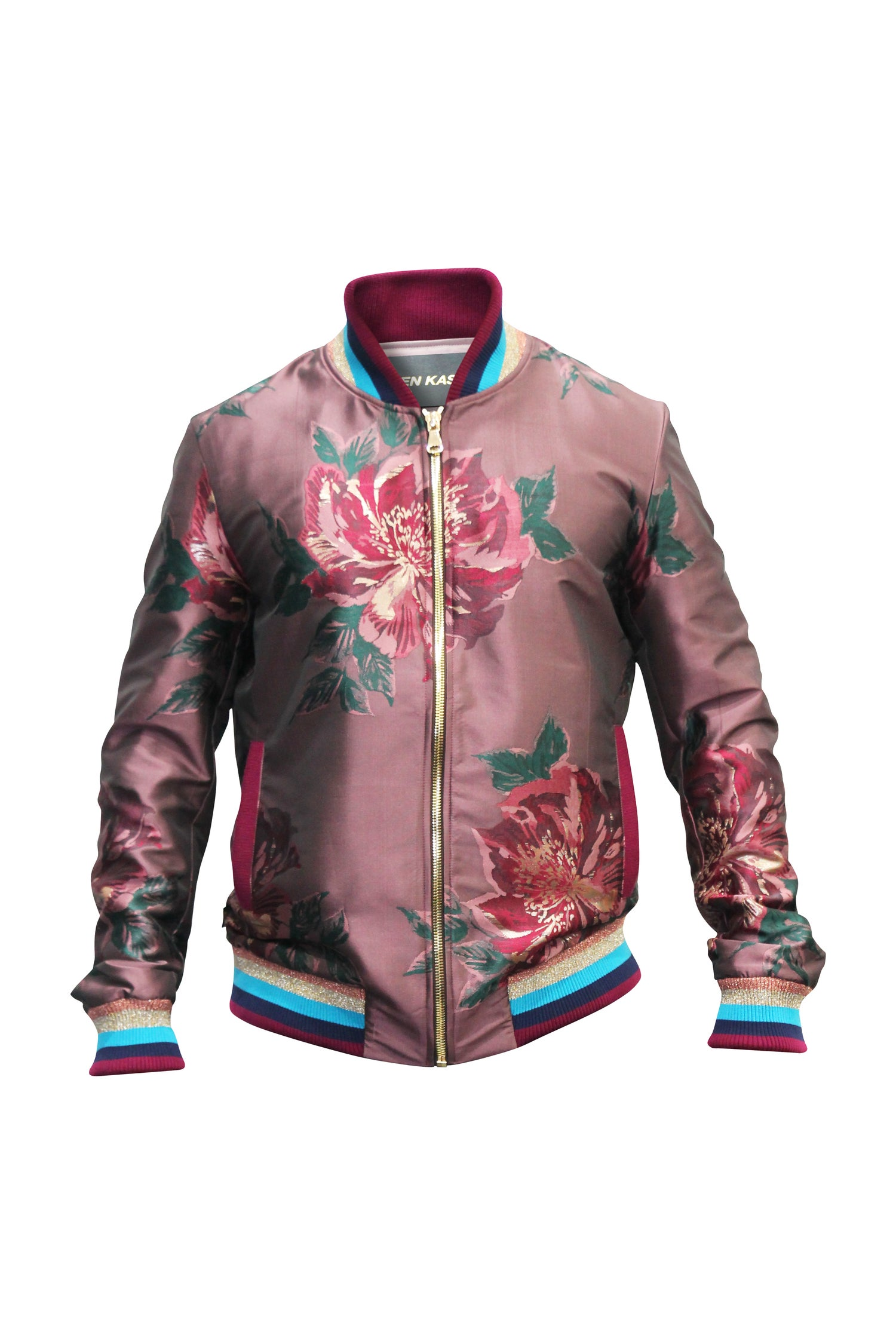 Image of Mauve Floral Bomber