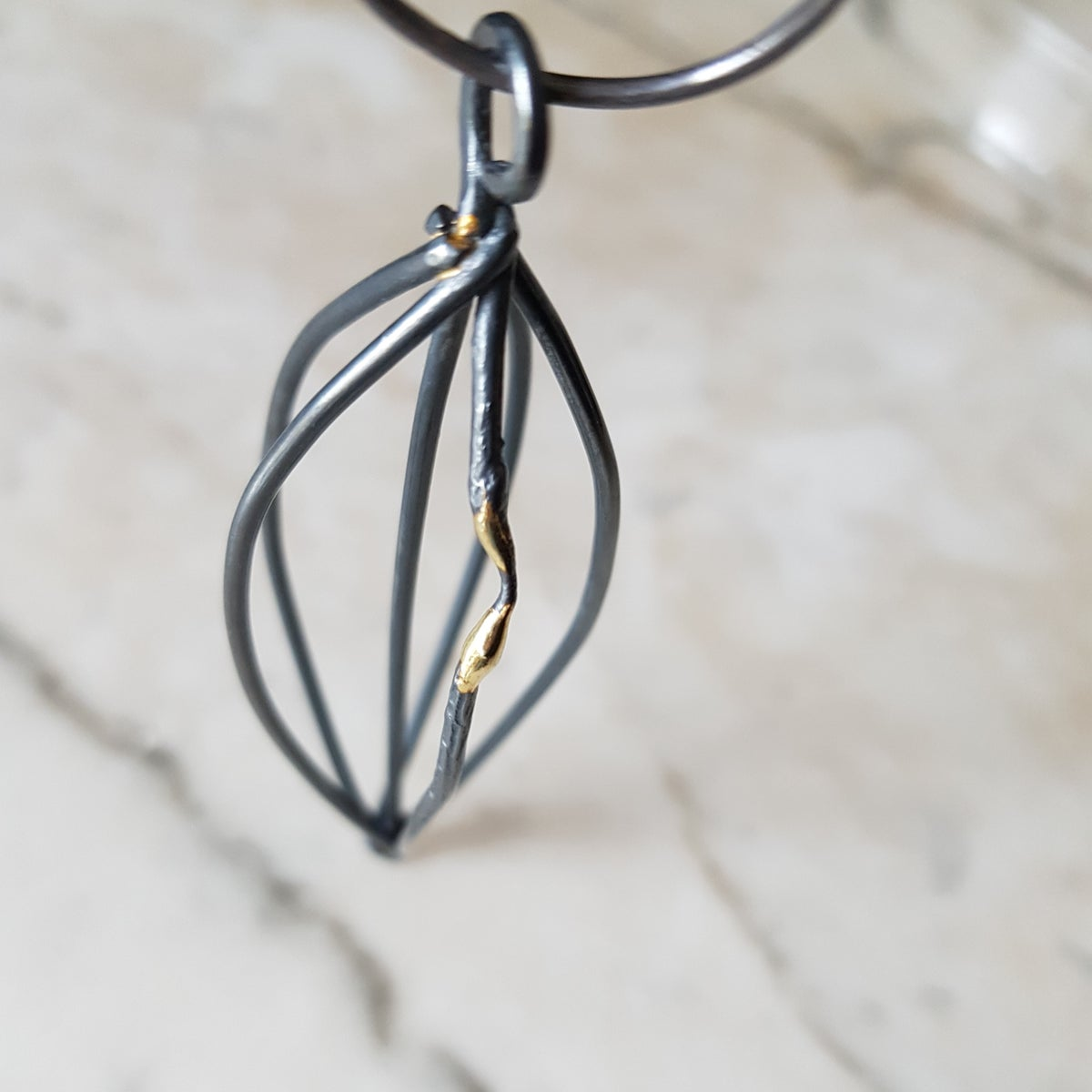 Image of Mended Necklace - Cages