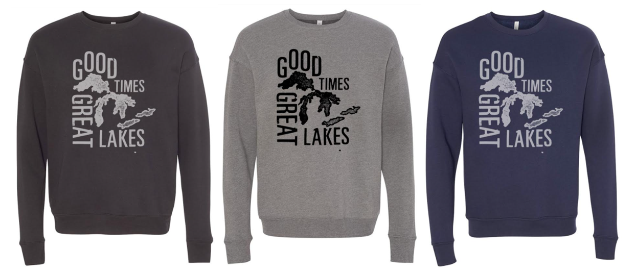 Good Times Great Lakes Pullover Pre-Sale