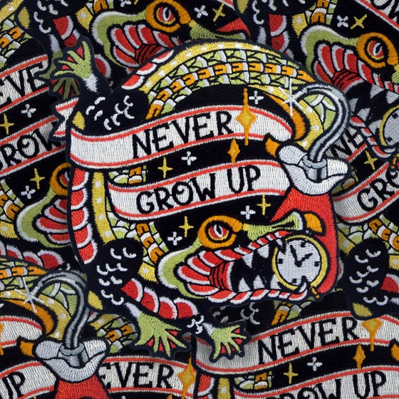 Image of Never Grow Up Hook patch