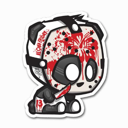 Image of Panda Jason Sticker