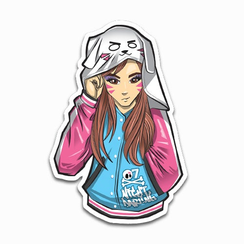 Image of Night Darling DVA Sticker