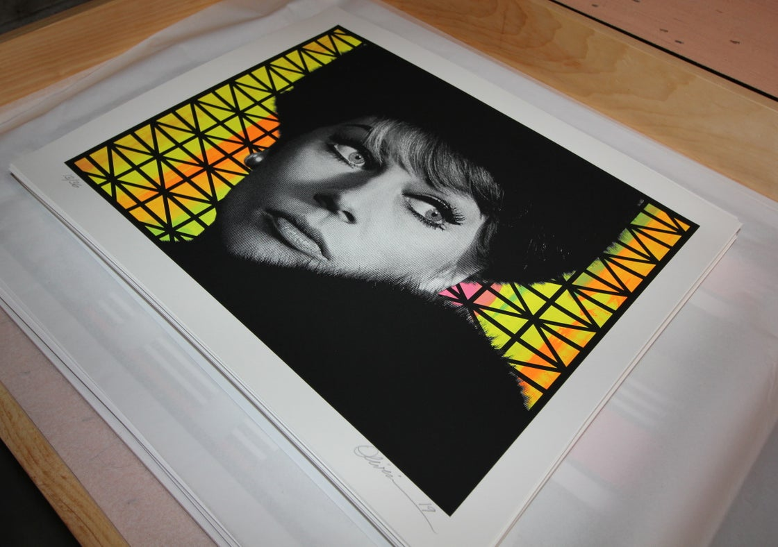 """Image of """"Paranoia"""" - Variant Edition - Print #13/36"""