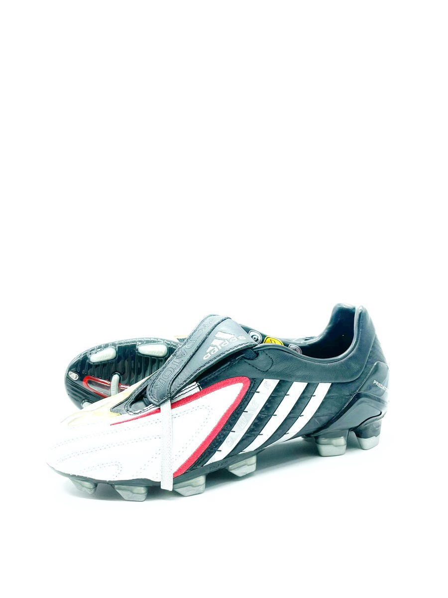 Image of Adidas Predator Powerswerve White Grey FG