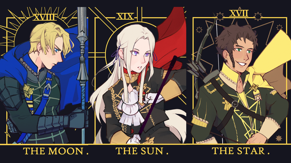 Image of FE3H Tarot Card Prints