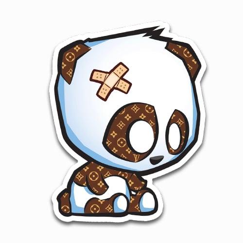 Image of Designer Panda Sticker