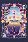 Sailor Moon and Scouts