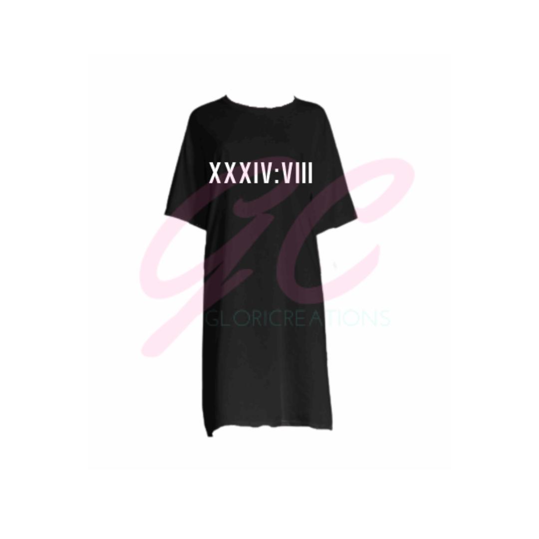 Image of Psalm348 T-shirt Dress