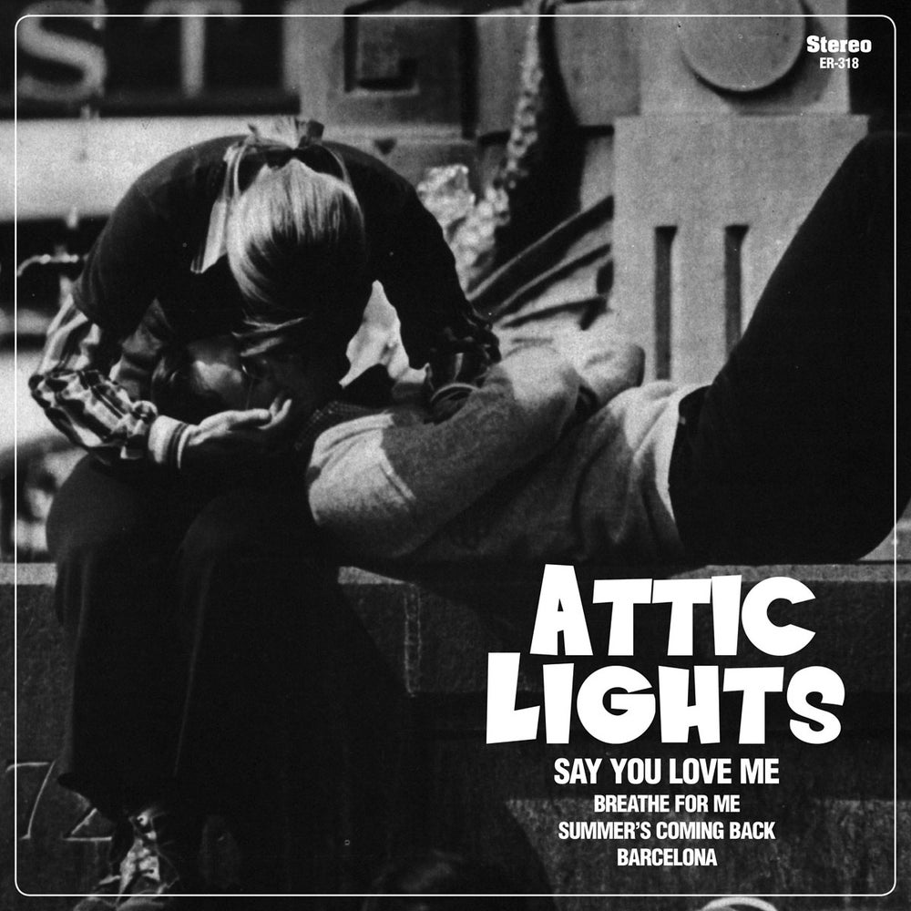 """Image of ATTIC LIGHTS - Say You Love Me (Limited White 7"""" Vinyl with MP3s)"""