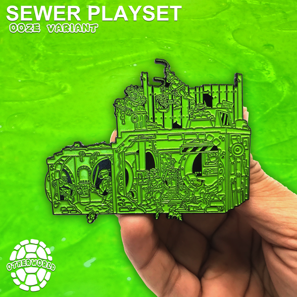 Image of Sewer Playset: Ooze Variant