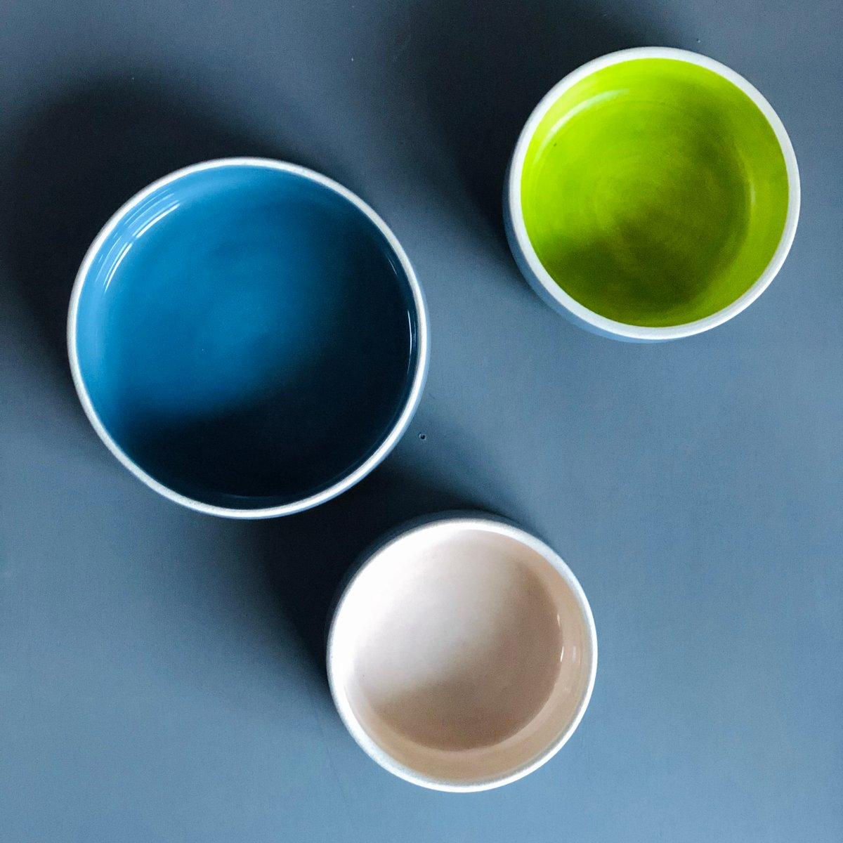 Image of Mod dog bowls