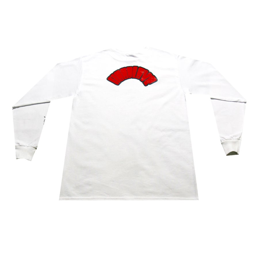 Image of HoodLove Bubble Letter Stock L/S Tee