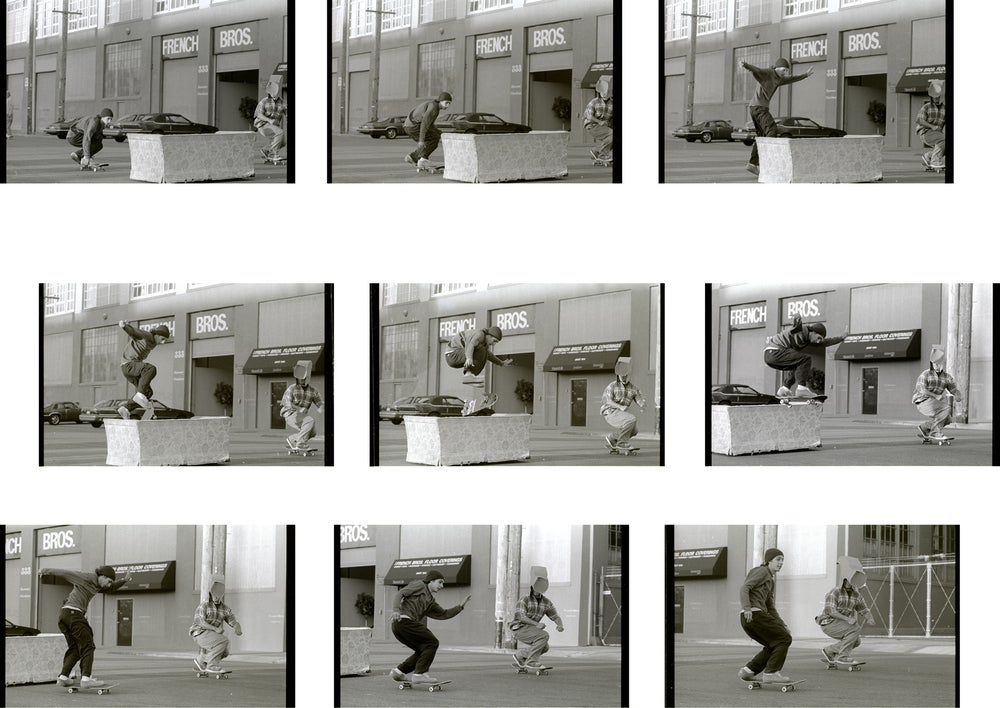Mike Daher & Mickey Reyes SF 1995 by Tobin Yelland