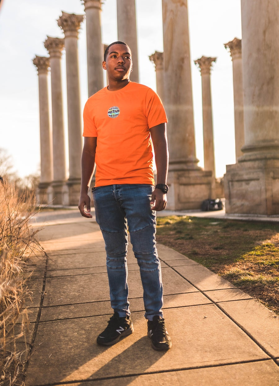 Image of NEW Orange World of Emotions T-Shrit
