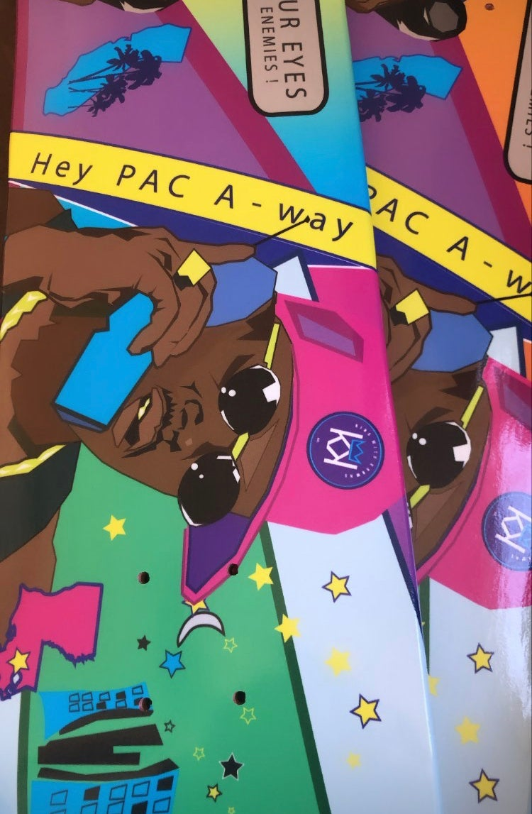 Image of Hey PAC A-way Art Deck