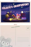 Animal Crossing: Celeste's Observatory Postcard/Mini Print