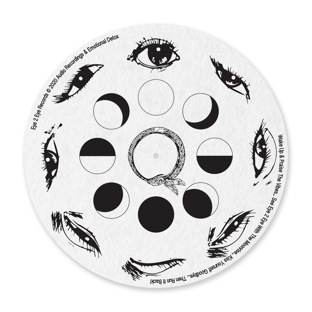Image of EYE2EYE RECORDS   DAILY ROUTINE TURNTABLE MATS