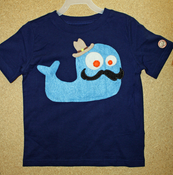 Image of Mr. Whale Shirt by UltraPunchToyCo.