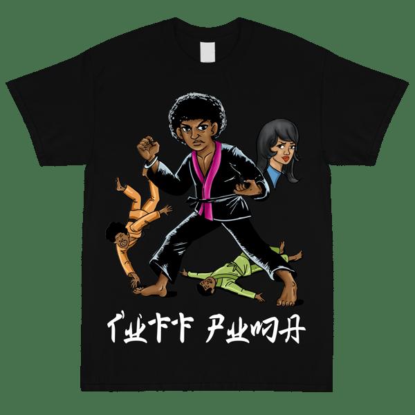 Image of Tuff Puma Black T Shirt