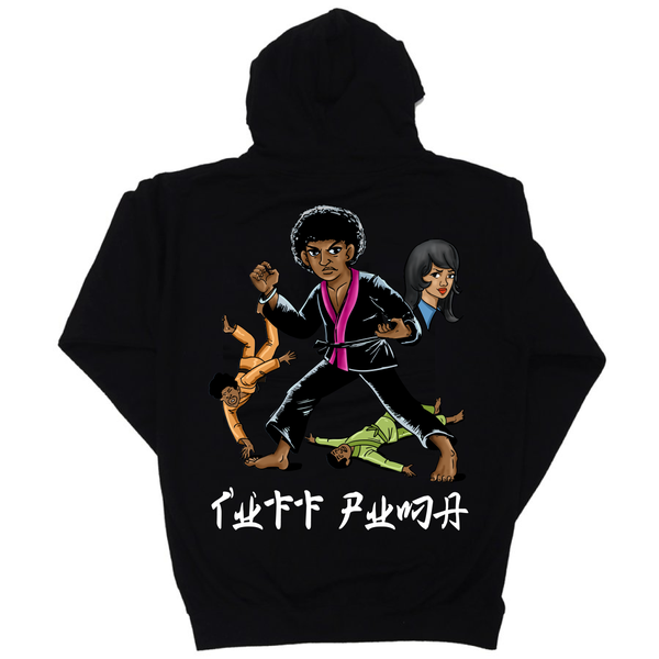 Image of 14oz Black Tuff Puma Sweater