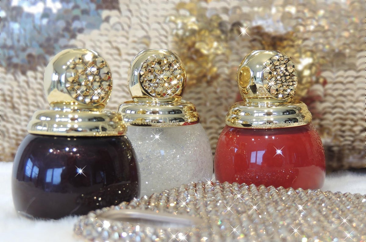 Image of Dior Vernis Nail Laquer with Gold Swarovski Crystals