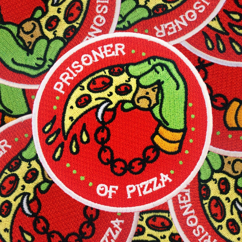 Image of Prisoner Of Pizza patch