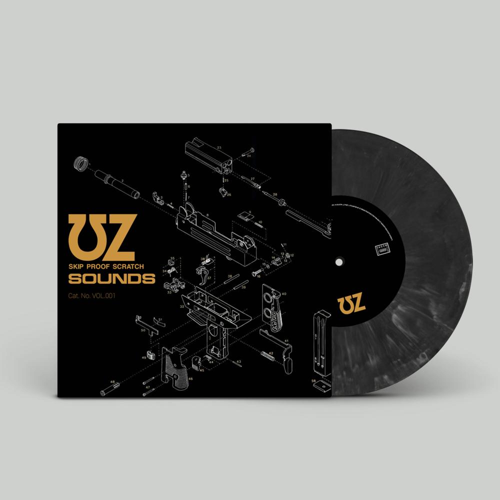 "Image of 7"" ""UZ Skip Proof Scratch Sounds Vol.1"" by UZ"