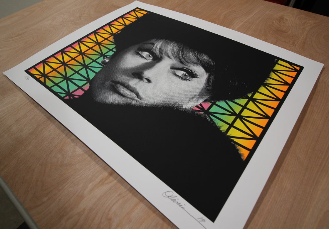 """Image of """"Paranoia"""" - Variant Edition - Print #19/36"""