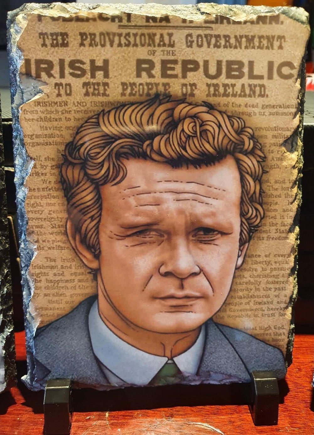 Martin McGuinness Proclamation Slate