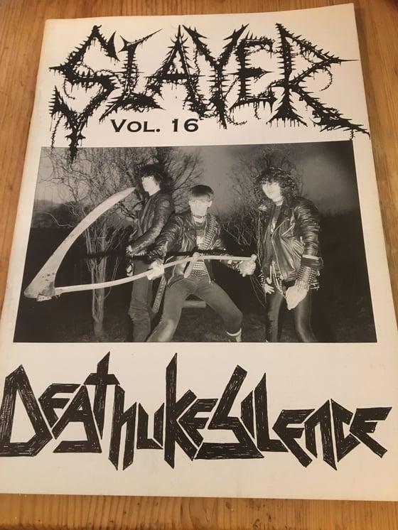 Image of Slayer mag no: 16 NM