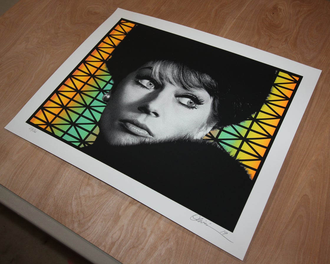"""Image of """"Paranoia"""" - Variant Edition - Print #23/36"""