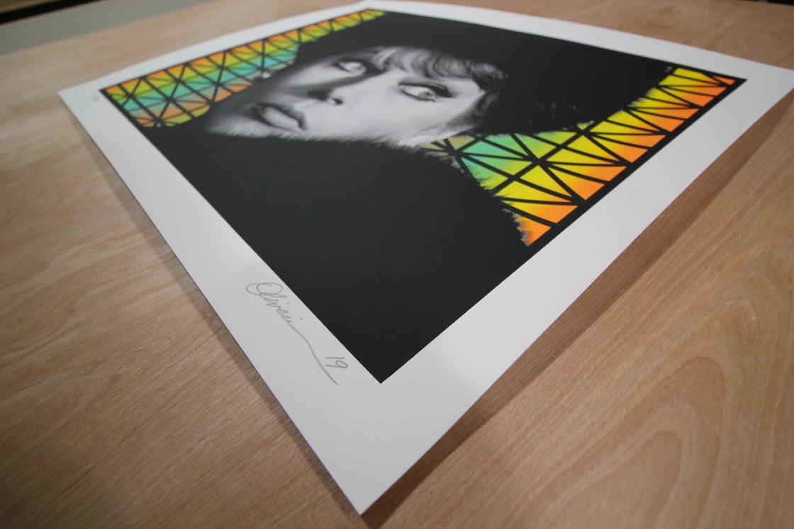 """Image of """"Paranoia"""" - Variant Edition - Print #24/36"""