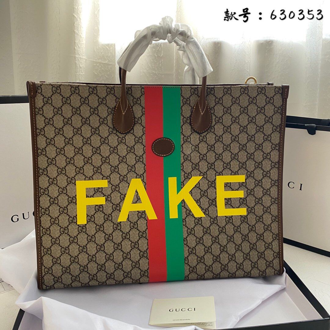 Image of !HOLIDAY ITEM! GG Fake Tote Bag