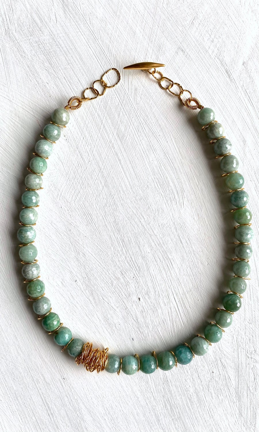 Image of Afiok Beaded Necklace #12