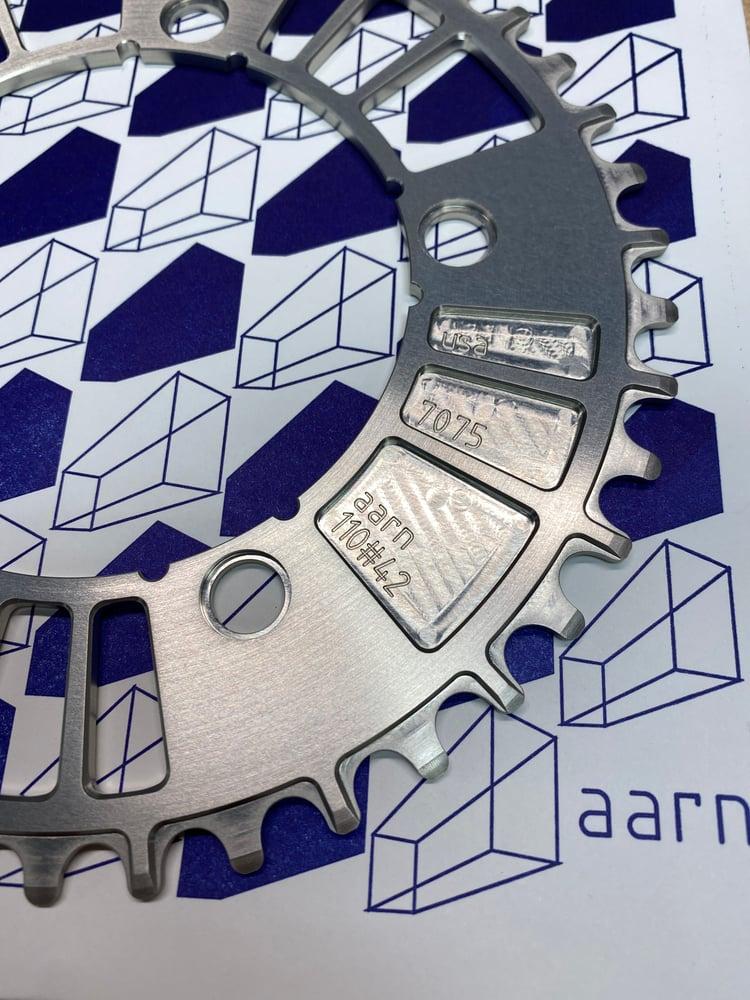 Image of AARN narrow wide silver