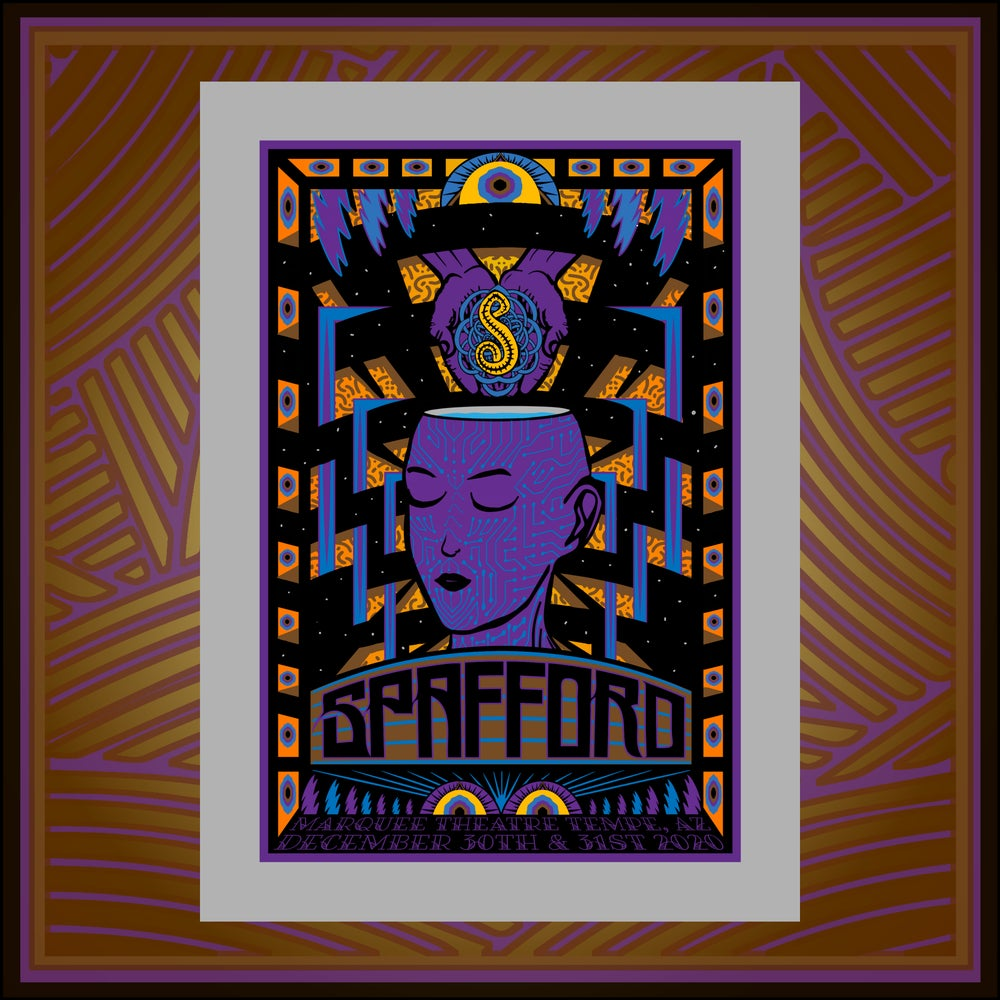Image of Spafford Tempe Arizona Print 12-30/31-2020