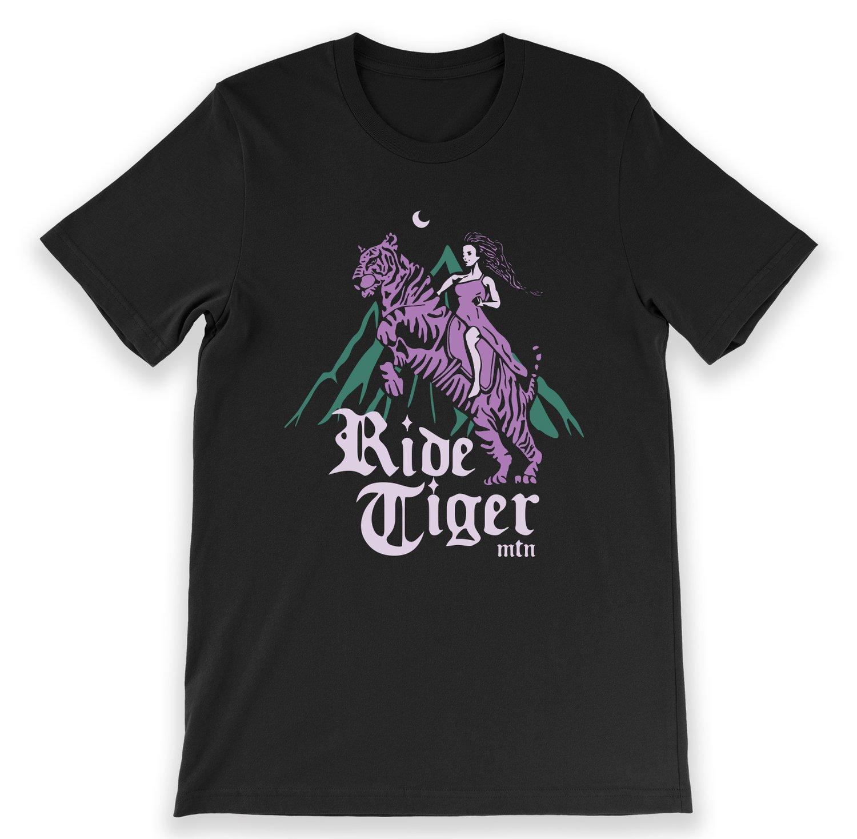 Image of Ride Tiger Mountain - T-shirt