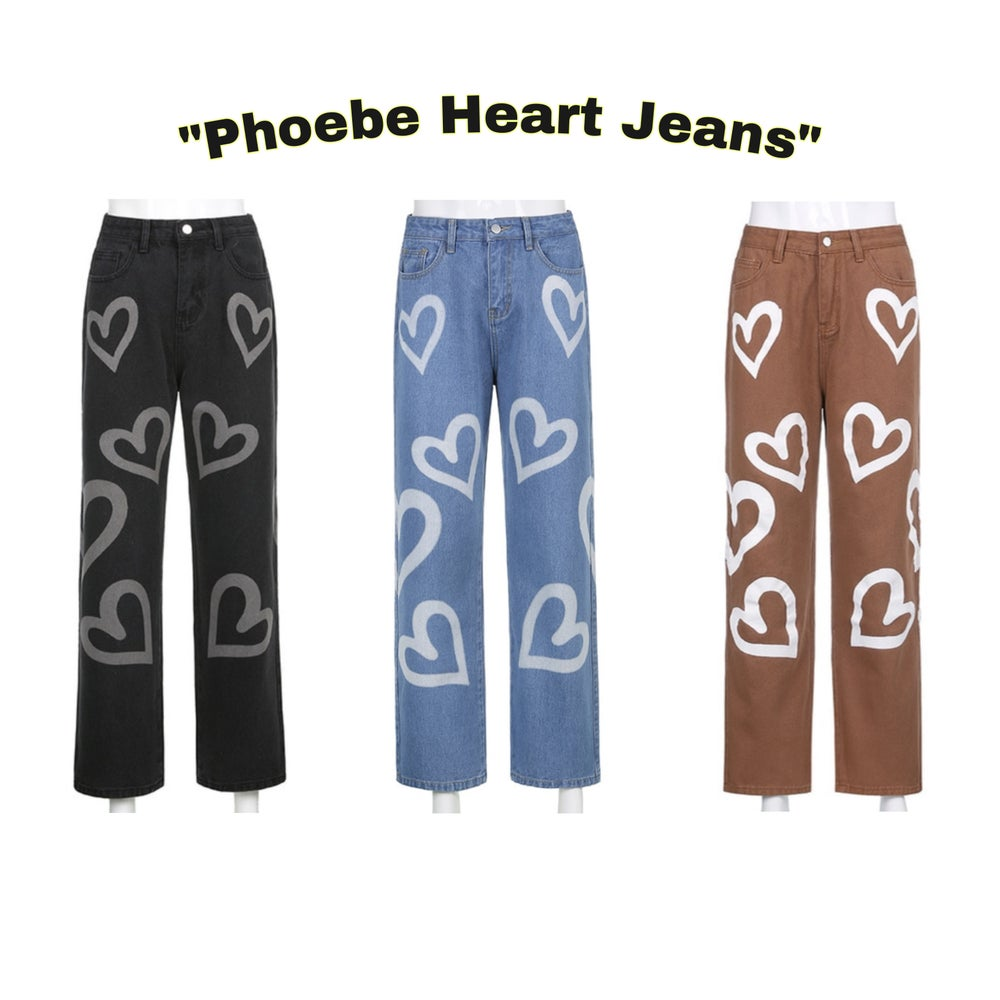 Image of Phoebe Heart Jeans