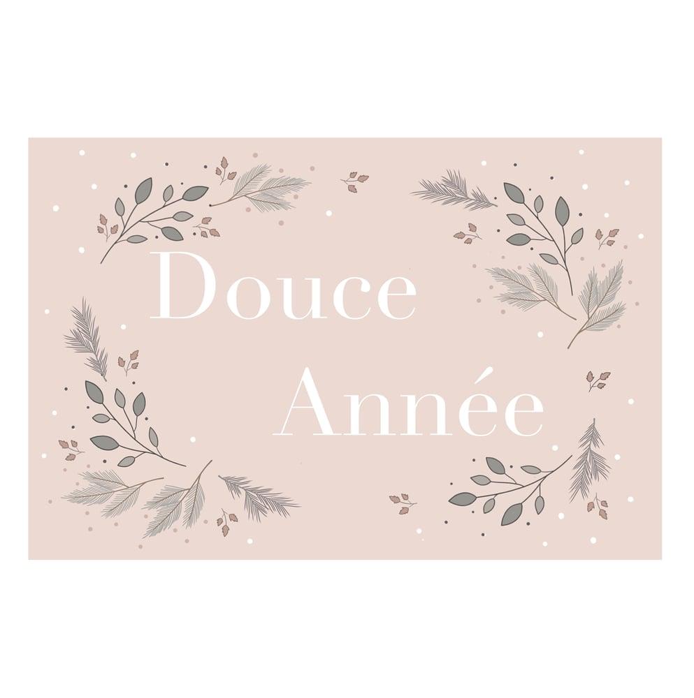 Image of Carte de voeux Douce Année
