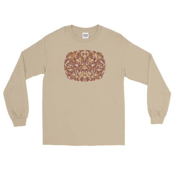 "Image of ""The Space Between"" - Gildan Long Sleeve Tee - Sand"