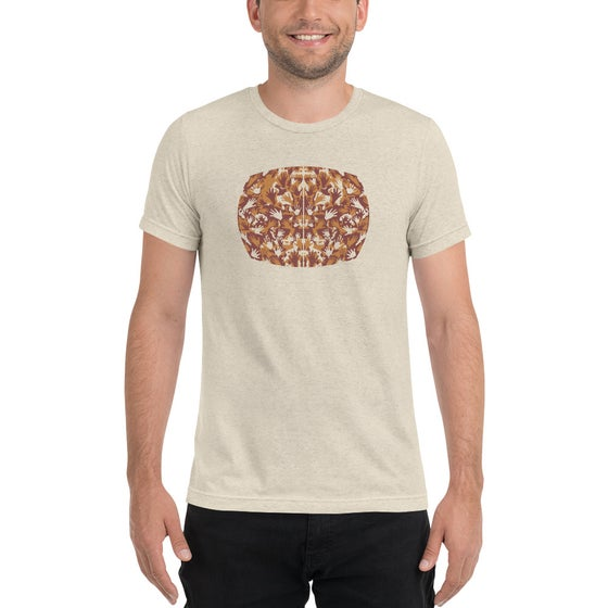 "Image of ""The Space Between"" - Unisex Tri-Blend T-Shirt 