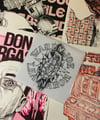 "WARUM-JOE STARTER PACK  EP 45t""Heavy-Mental"" + 1 sérigraphie Warum-Joe/Lea-Nahon"