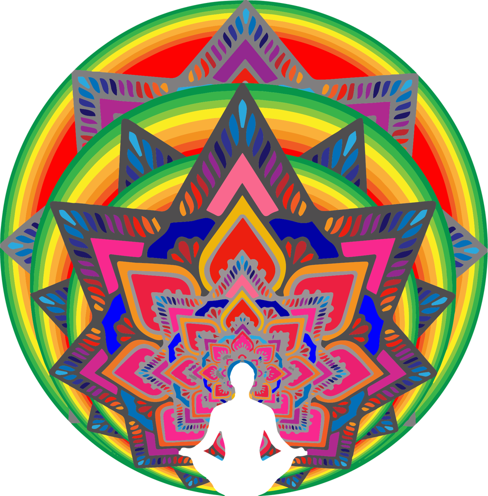"""Image of """"Meditate""""  - Unisex Tri-Blend T-Shirt 