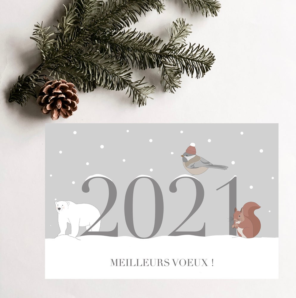 Image of Carte de vœux 2021