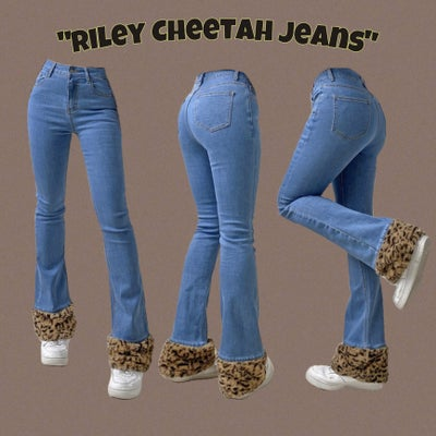 Image of Riley Cheetah Jeans