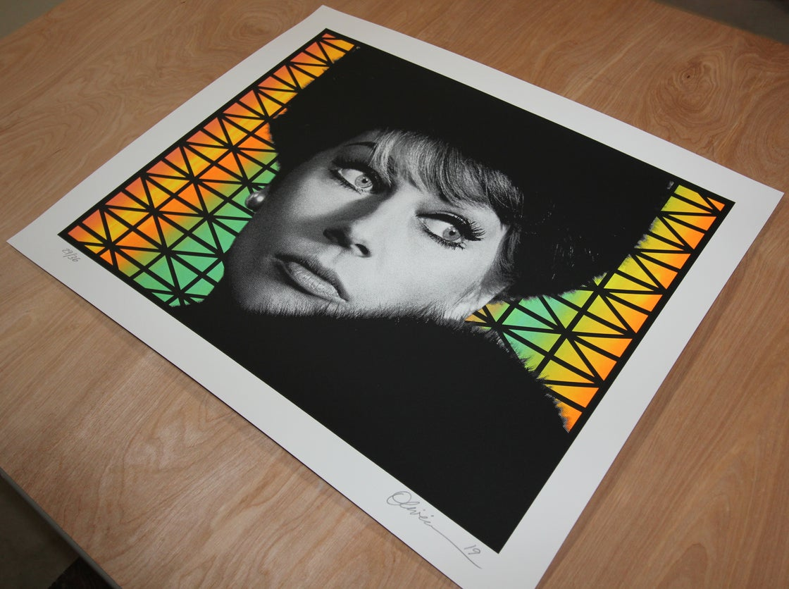 """Image of """"Paranoia"""" - Variant Edition - Print #29/36"""