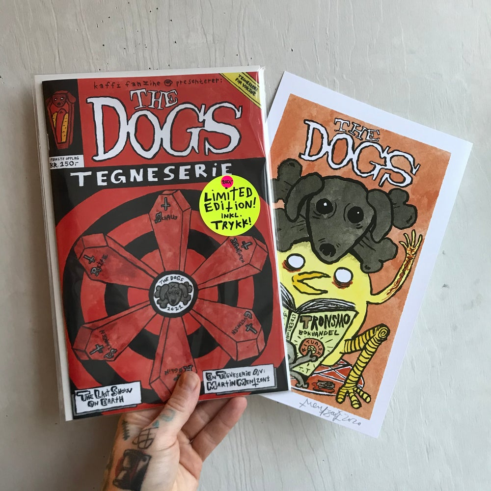 Image of The Dogs Vol.2 inkl.ORIGINAL TEGNING!