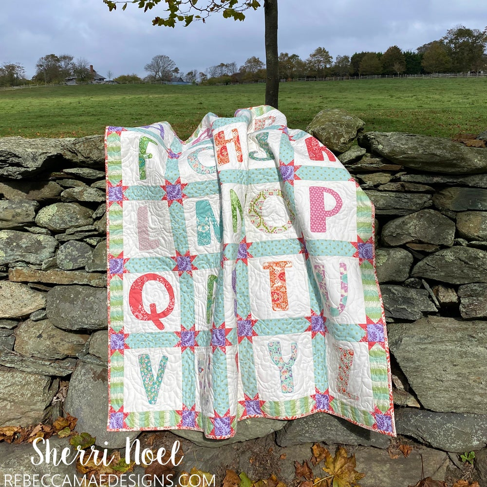 Image of OH Baby - Alphabet Quilt