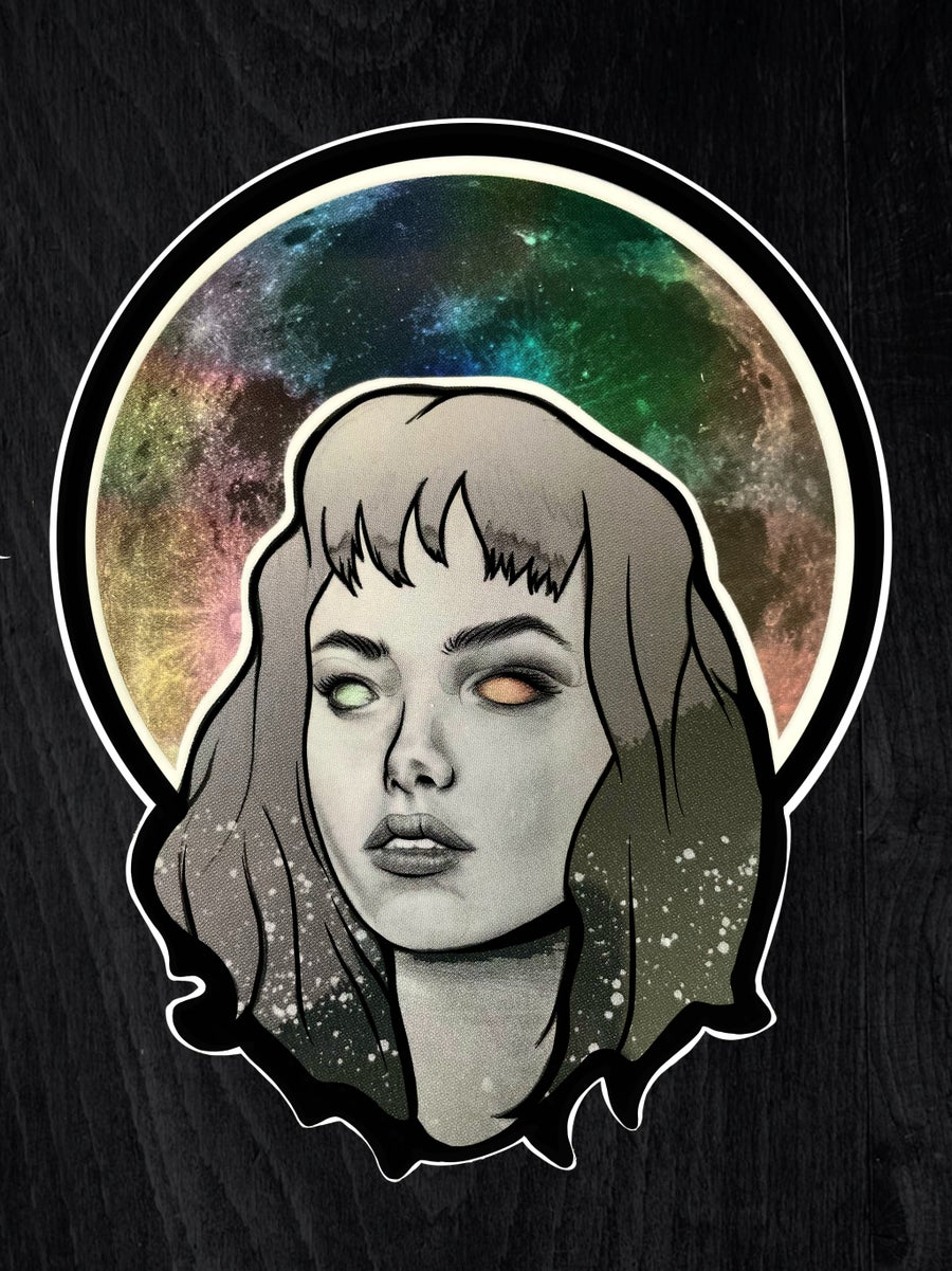 Image of HOLLOW MOON Sticker