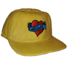 Corduroy Heart Hat YELLOW